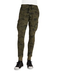 Hudson Jeans Cargo Joggers Green