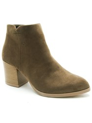 Qupid Wilson Ankle Boot Khaki