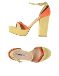 Manas Lea Foscati Sandals Light Yellow