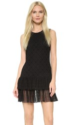Philosophy Di Lorenzo Serafini Eyelet Dress Black