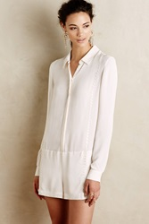 Twelfth St. By Cynthia Vincent Tailored Romper White