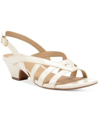Naturalizer Belize Sandals Women's Shoes Cream