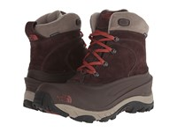 The North Face Chilkat Ii Mulch Brown Brick House Red Men's Cold Weather Boots