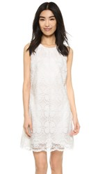 Ali And Jay Embroidered Mini Dress White
