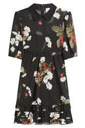 Red Valentino Printed Dress Florals