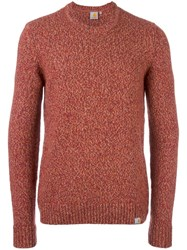 Carhartt 'Chianti' Jumper Yellow Orange