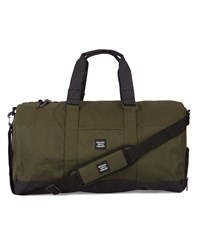 Herschel Khaki Novel Mesh Sports Bag 42 L