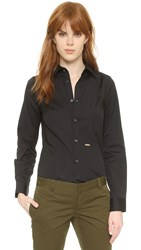 Dsquared Classic Button Down Shirt Black