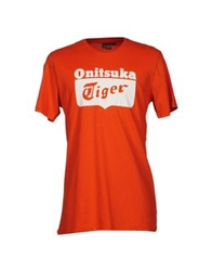 Onitsuka Tiger By Asics Onitsuka Tiger T Shirts Orange