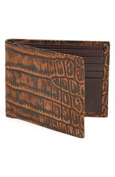 Men's Torino Belts Crocodile Leather Wallet