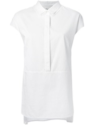 3.1 Phillip Lim Cap Sleeve Shirt White