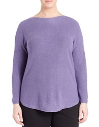 Context Plus Boatneck Blouse Winter Lily