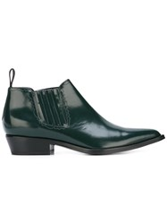 Sonora Pointed Toe Boots Green