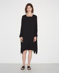 Black Crane Dome Dress Black