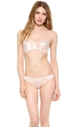 Agent Provocateur Penelope Padded Strapless Bra Nude