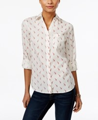Styleandco. Style Co. Petite Giraffe Print Shirt Only At Macy's Jazzy Giraffes