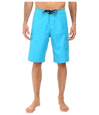 Quiksilver Manic 22 Boardshorts Hawaiian Ocean Men's Swimwear Green