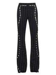 Edun Button Detail Pinstripe Trousers