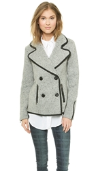 Bb Dakota Dakota Collective Dreena Peacoat Heather Grey