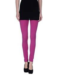 Pinko Trousers Leggings Women Fuchsia