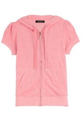 Juicy Couture J Bling Terrycloth Jacket Rose