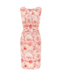 Nougat London Salma Print Silk Dress Lipstick
