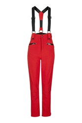 Topshop Sno Skinny Ski Trousers Red