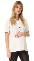 Hatch The Elodie Top Ivory Black