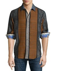 Robert Graham Tao Long Sleeve Woven Sport Shirt Multi
