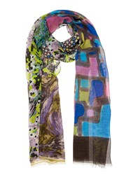 Pierre Louis Mascia Pierre Louis Mascia Printed Scarf Multicolour