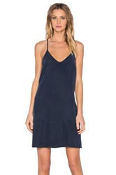 Egrey Mini Shift Dress Navy
