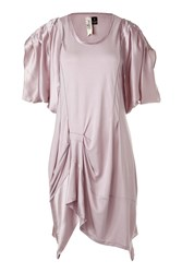 Bird By Juicy Couture Light Mauve Royal Jersey Tunic Dress Rose