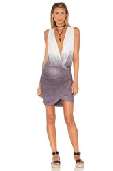 Young Fabulous And Broke Stacey Mini Dress Gray