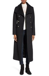 Eliza J Women's Wool Blend Military Long Coat