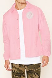 Forever 21 Defyant Rebel Coach Jacket