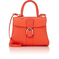 Delvaux Women's Brillant Mm Sellier Satchel Red