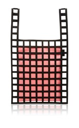 Forms Studio Baby Pink Mesh Tote 04