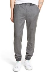 Bonobos Slim Fit Stretch Wool Jogger Pants Gray