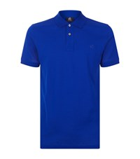 Paul Smith Ps By Mercerised Polo Shirt Male Navy