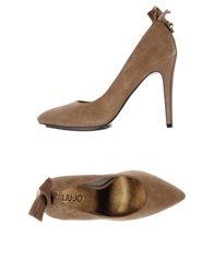 Liu Jo Shoes Pumps Khaki