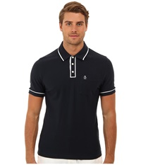 Original Penguin Earl Polo Total Eclipse Men's Short Sleeve Pullover Navy