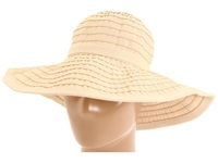 San Diego Hat Company Rbl299 Crushable Ribbon Floppy Hat Beige Traditional Hats
