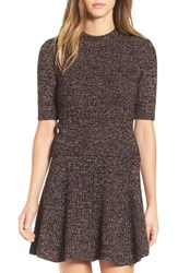 Astr Women's 'Agnes' Mottled Knit Sweater