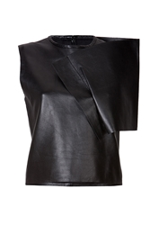 J.W.Anderson Leather Crop Top