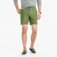J.Crew 7 Short In Rustic Chambray