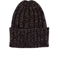 The Elder Statesman Women's Short Bunny Echo Hat Purple