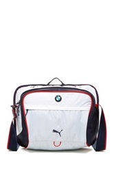 Puma Bmw Motorsport Messenger Bag White