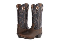 Ariat Sport Square Toe Earth Black Cowboy Boots Mahogany