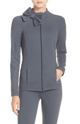 Beyond Yoga Women's Kate Spade New York And Front Zip Jacket Smoky Quartz