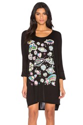 Lauren Moshi Milly Bright Space Dress Black